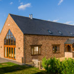 Barn Style Dwelling – adjacent to conservation area, using slate, brick and timber cladding