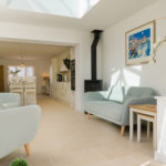 Scarfield Lane - Room with Skylight and log burner