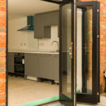 Haylett Mews - bi-folding doors to kitchen