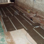 Elm Church - Install block and beam floor