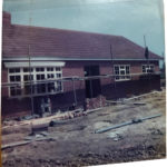 First Bungalow Under Construction 1978